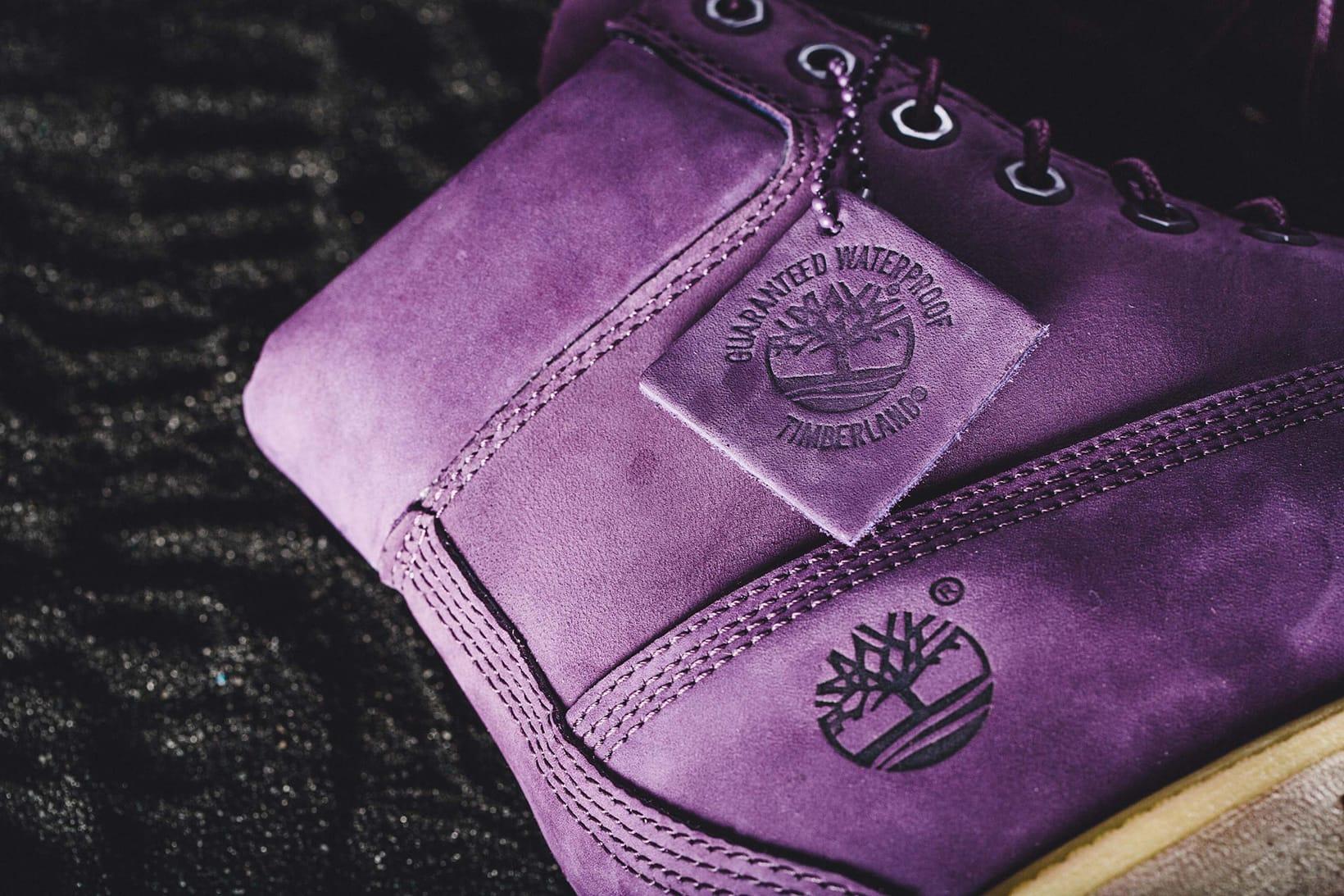 VILLA Timberland Purple Diamond Collabo