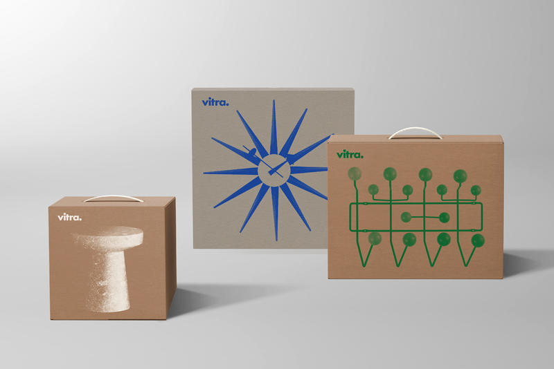 BVD Designs New Minimalistic Packaging Concepts for Vitra