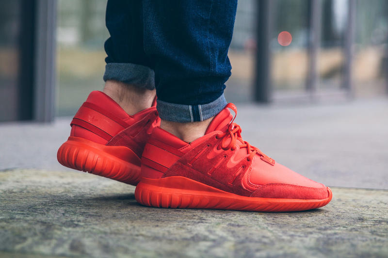 9b6f0bc48305aa adidas Gives the Tubular Nova an All-Red Makeover
