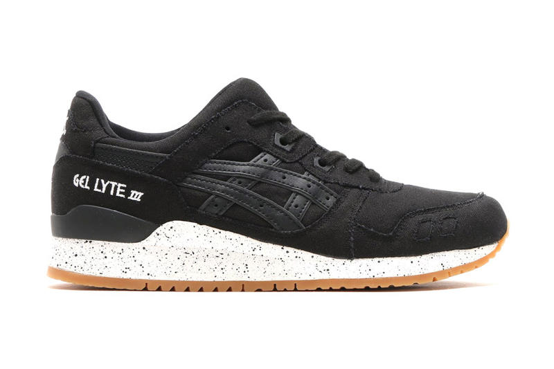 innovative design daf8d 394e3 ASICS GEL Lyte III Canvas in Black and Red | HYPEBEAST