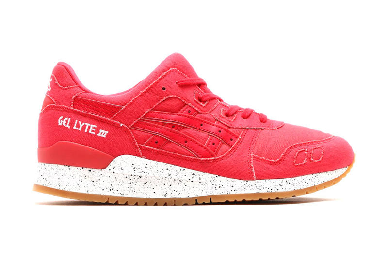 innovative design 93ec8 0dcd1 ASICS GEL Lyte III Canvas in Black and Red | HYPEBEAST
