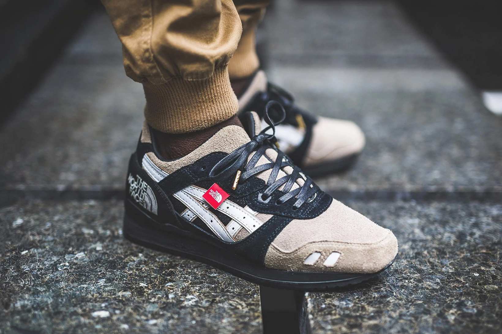 The North Face ASICS Gel Lyte III