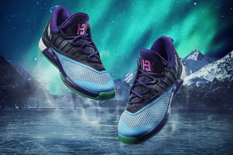new styles 2f8c0 a2b0b James Harden Heads to Torontos NBA All-Star Game With a Special adidas  Crazylight Boost. Footwear