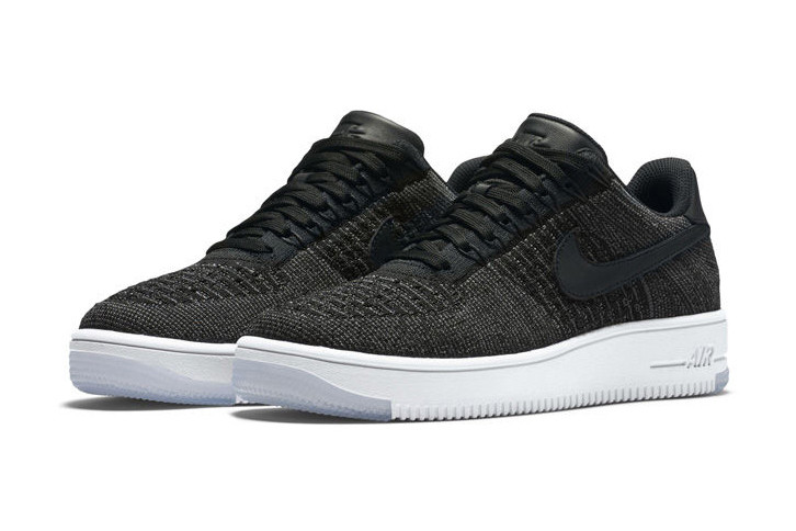 088943fd345f51 Black Low-Top Nike Air Force 1 Flyknits Are Coming