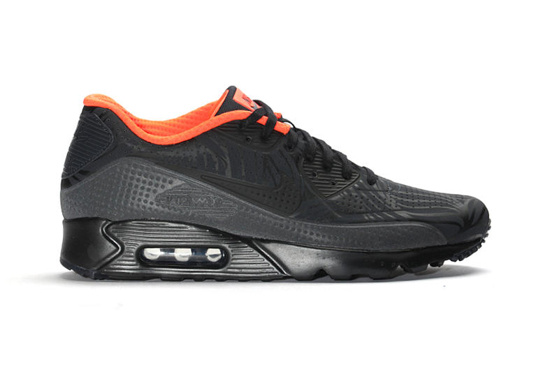 01cf8be816 Nike's Air Max 90 Ultra Moire FB Is Delivered in Black Crimson. An upgraded  twist to a classic.