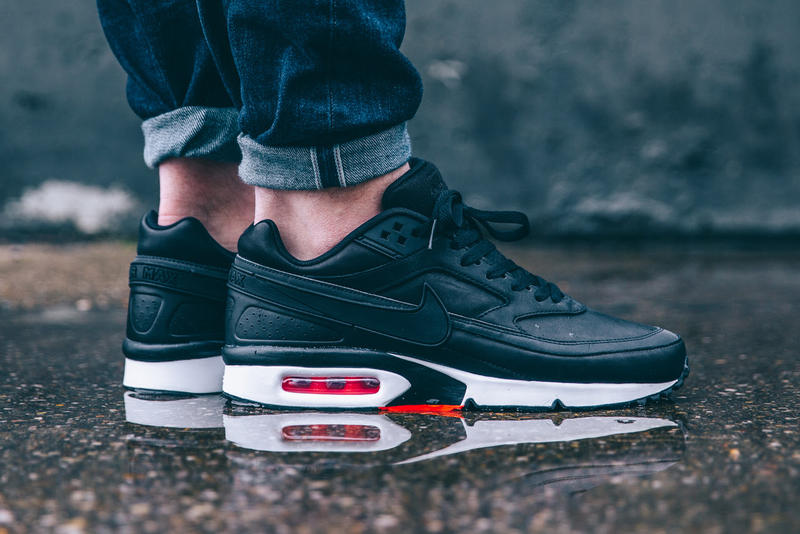 459b239be2 Nike Air Max BW Premium Black Bright Crimson Wolf Grey | HYPEBEAST