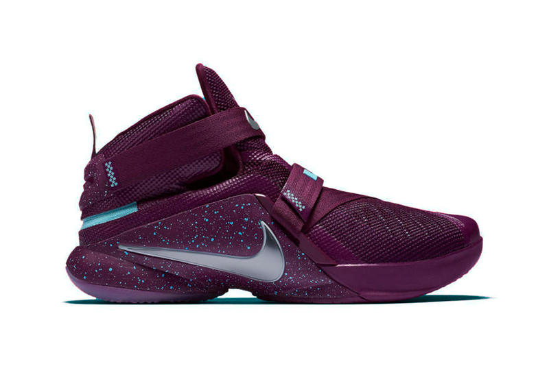 best sneakers f63ac 83e40 Nike LeBron Soldier 9 Flyease Set to Release in Purple and Navy Colorways