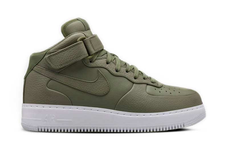 air force 1 high top olive green