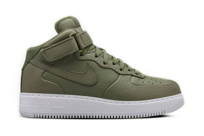 brand new c3a57 049ec NikeLab s Premium Air Force 1 Receives a Brand New Colorway. A classic  silhouette meets premium materials and a monochromatic color.