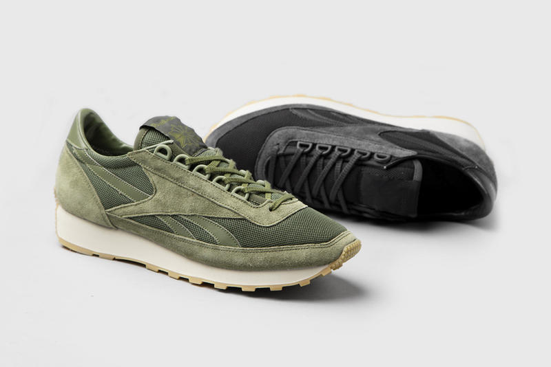 4417ee73da63 size Unveils Exclusive Olive and Black Colorways of the Reebok Aztec ...