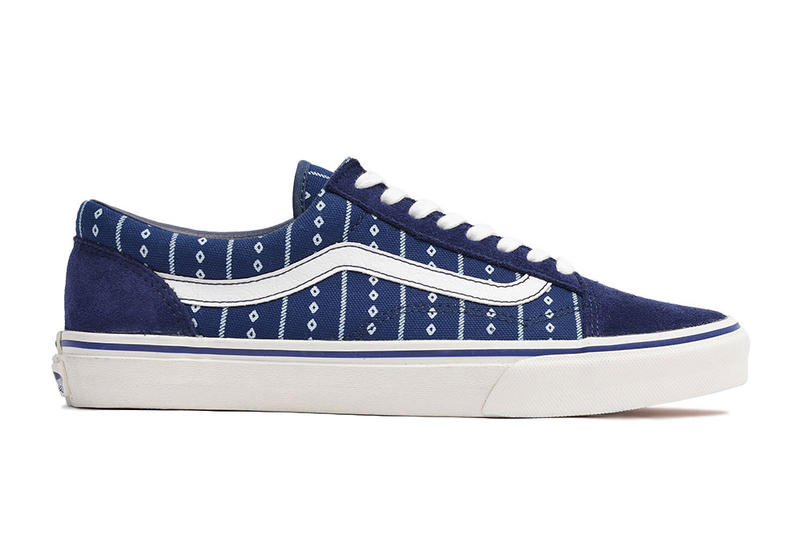 6d6ec79655 Vans Japan and Design Studio GARAGELAND Celebrate Rich Hues With an All- Indigo Collection