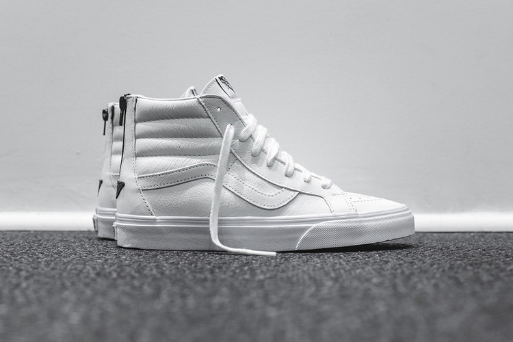 21ef2fdb8afdca Vans Unveils a Leather-Clad Sk8-Hi Zip for the Spring