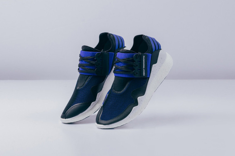 c7b054a6f Y-3 s Retro Boost Receives a Fresh Electric Blue Black Makeover