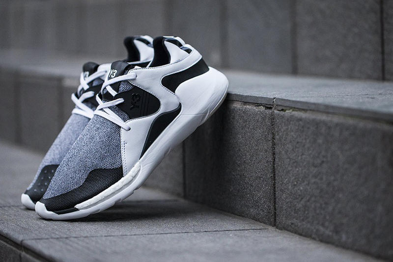 a459955fb301 Y-3 Drops a New Black and White Boost QR. Now known as the QR Run.