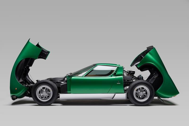 Polostorico Restores 1971 Lamborghini Miura Sv Hypebeast