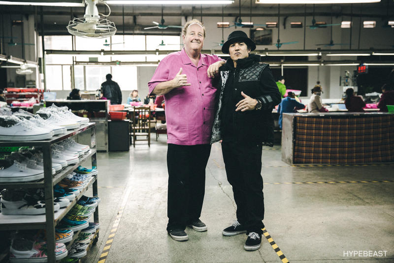 c132d79983 A Day at the Vans Factory in Guangzhou with Christian Hosoi   Steve ...
