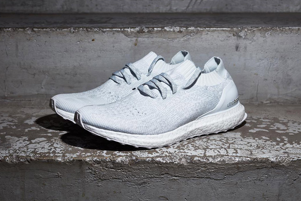 timeless design 656aa a1c12 adidas Uncages the All-White Ultra Boost