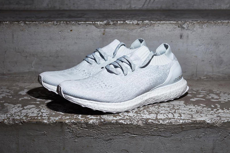 0cb39ab9d adidas Uncages the All-White Ultra Boost