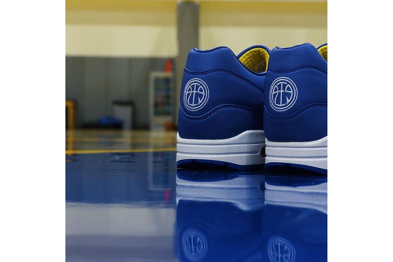 official photos 51bc9 b8b88 Andre Iguodola Designed a Golden State Warriors-Themed Nike Air Max 1 With 3M  Reflective. A bespoke tribute to the Oakland team. 1 of 3. 2 of 3. 3 of 3