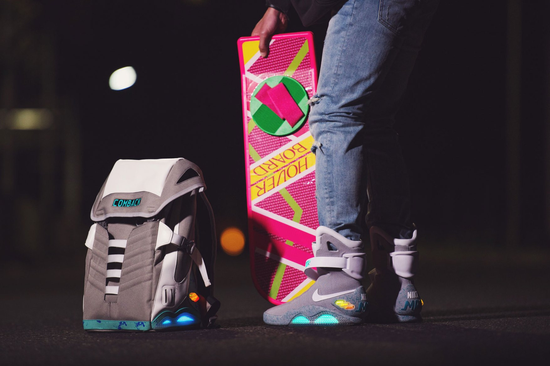 COMBACK to the Future Backpack | HYPEBEAST