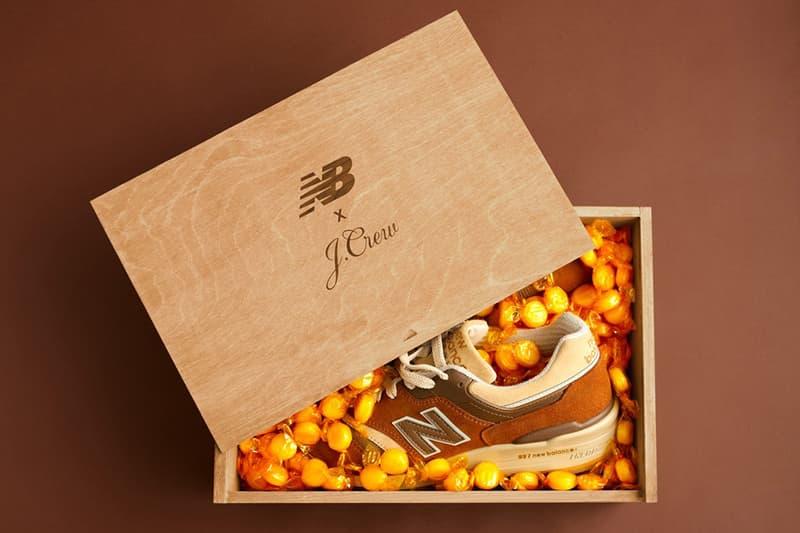 meet 3be0d dbaac J Crew New Balance Butterscotch Sneaker | HYPEBEAST