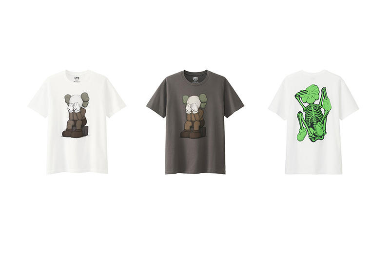 d9e65cbe KAWS x Uniqlo UT 2016 Spring/Summer Collection. Tees and totes featuring  the artist's iconic artwork.