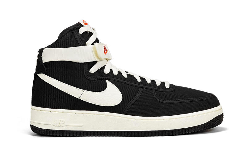 1a60ff84b1819a Nike s Air Force 1 High Receives a Canvas Makeover