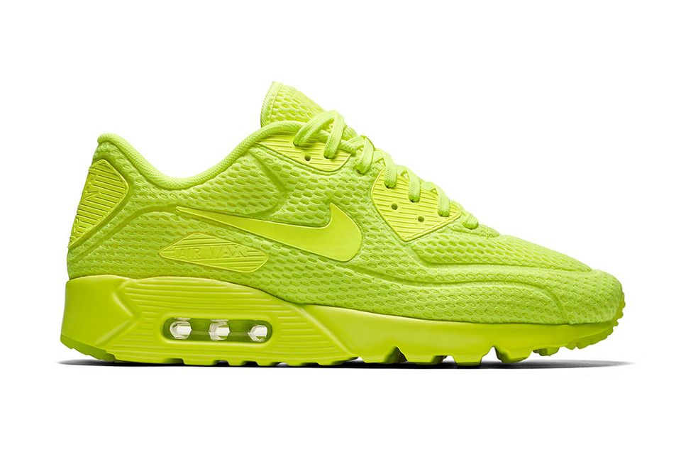 the latest 24be5 47fc8 Nike Air Max 90 Ultra BR Volt Sneaker | HYPEBEAST