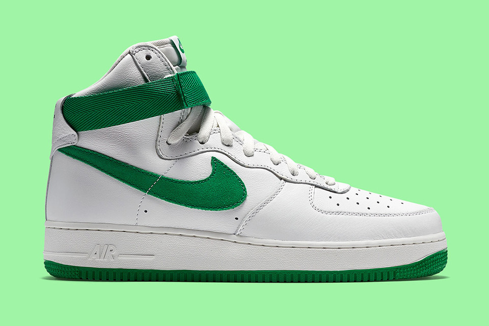 936a503ff8 Nike's Latest Air Force 1 Arrives Just in Time for St. Patrick's Day