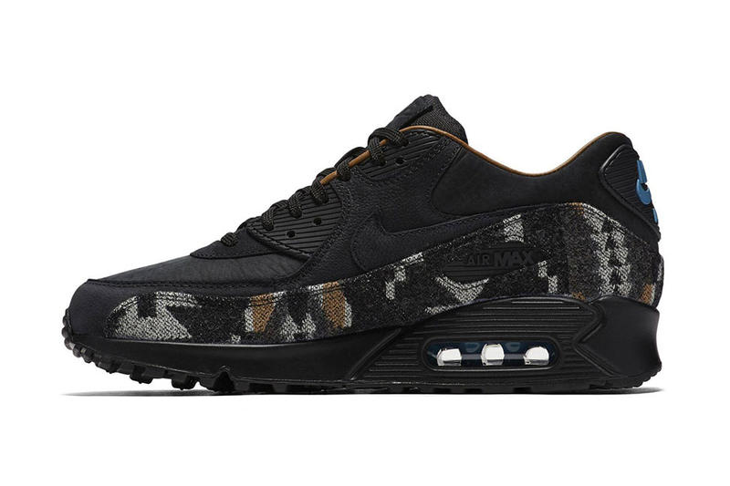 size 40 09247 ed0cf Nike Spices up the Air Max 90 With Pendleton Accents
