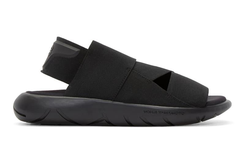 601e1ea81 Y3 Qasa Silhouette All Black Sandal