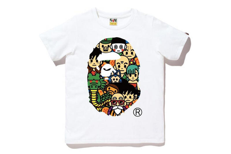 348c45bdf A Bathing Ape x Dragon Ball Collection | HYPEBEAST