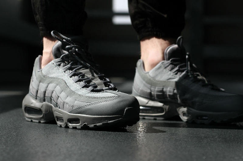 the latest 2f4a5 aec80 Nike Air Max 95 Cool Grey Sneaker Closer Look | HYPEBEAST