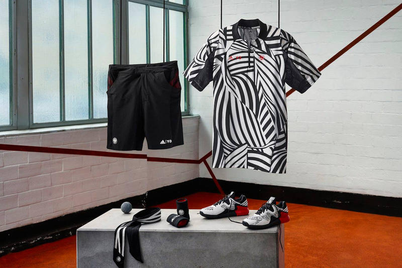 22624408c556b The adidas Tennis x Y-3 2016 Collection Is Designed to Dazzle Your Court  Opponent. This year s Roland Garros ...