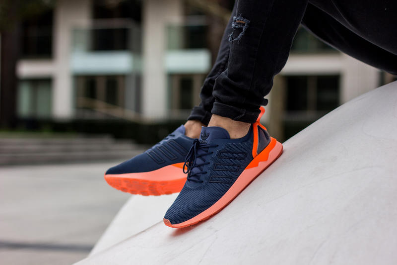 1ab7d6b31 adidas Originals  ZX Flux ADV Offers a Sleek Pop of Neon