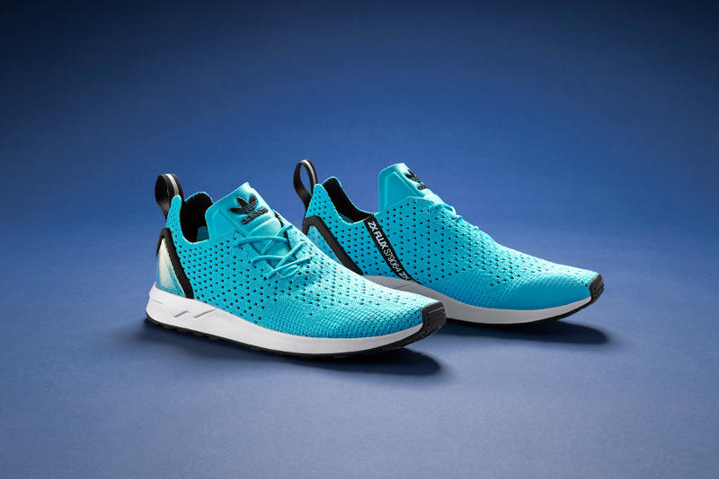 c624cde43a2 adidas Outfits the ZX Flux Racer Asym With a Primeknit Upper
