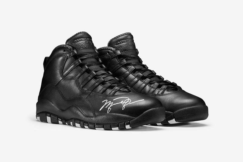 new arrival 9e03a fe5d2 Nike Is Auctioning Off Autographed Air Jordan 10s for OHSU ...