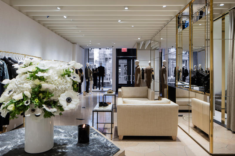 e79a4fd511b Balmain Opens Its First Flagship Store in New York
