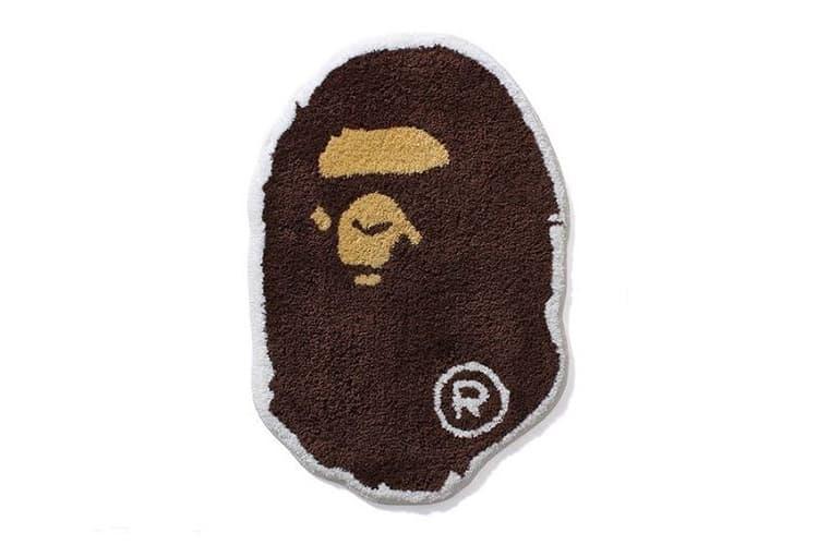 A Bathing Ape's Ape Head Is Soon Available in Rug Form
