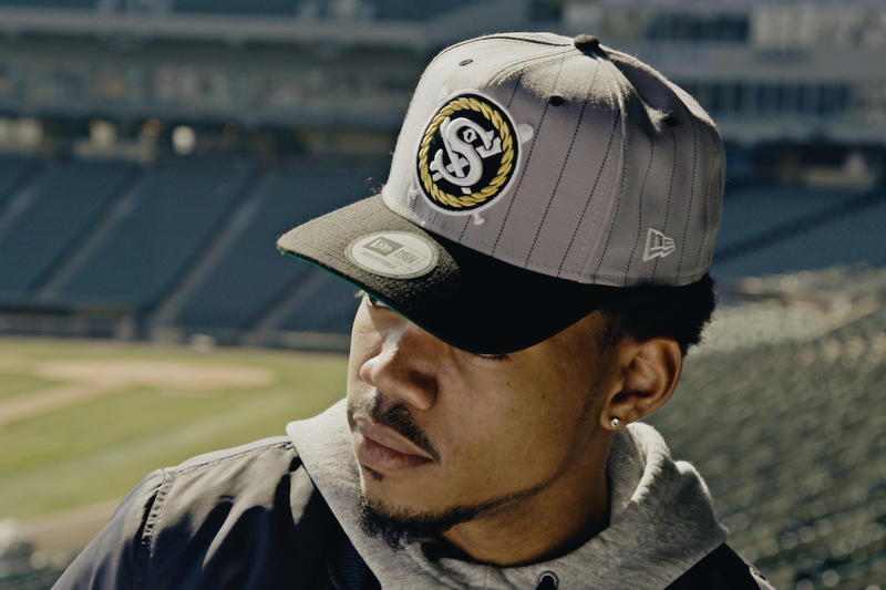 Chance The Rapper New Era White Sox Cap Collection  42a5c7f32f3