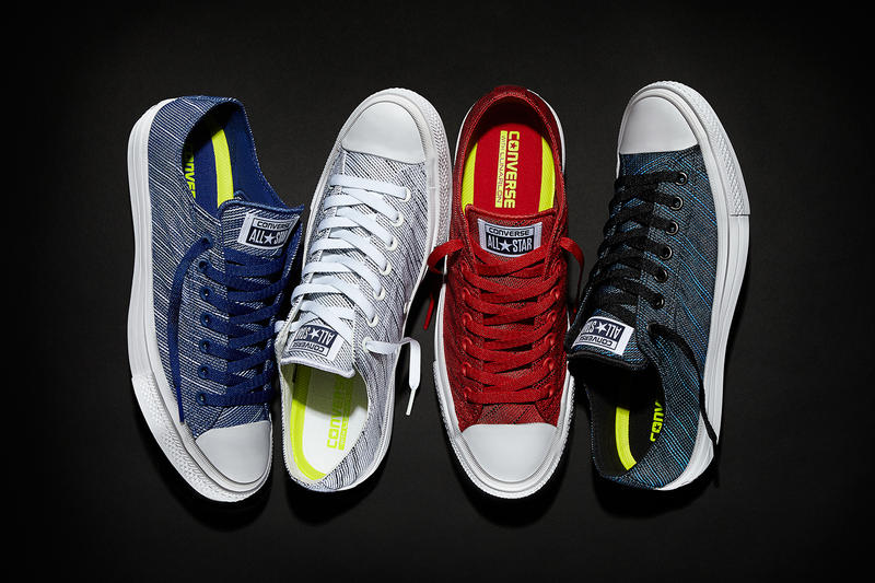 e0f52686f Converse Introduces Knit Takes on the Chuck Taylor All Star II. In both  high- and low-top form. 1 of 2