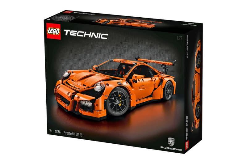 Lego Porsche 911 Gt3 Rs Orange Hypebeast