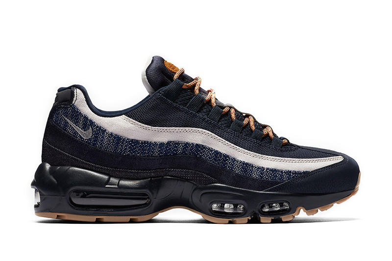 wholesale dealer 3afb9 82999 Denim Meets Nike s Air Max 95 PRM. A different vibe to a classic silhouette.