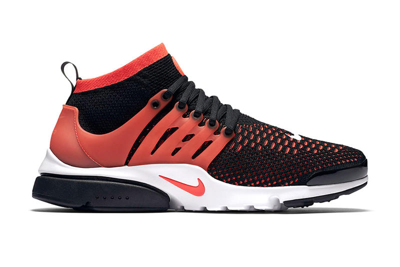 ce04474bbc48 Nike Air Presto Ultra Flyknit Lit up in Bright Crimson