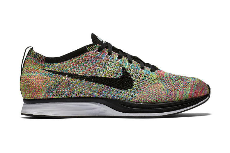 b334006d161c Nike Is Bringing Back the Original Multicolored Flyknit Racer ...