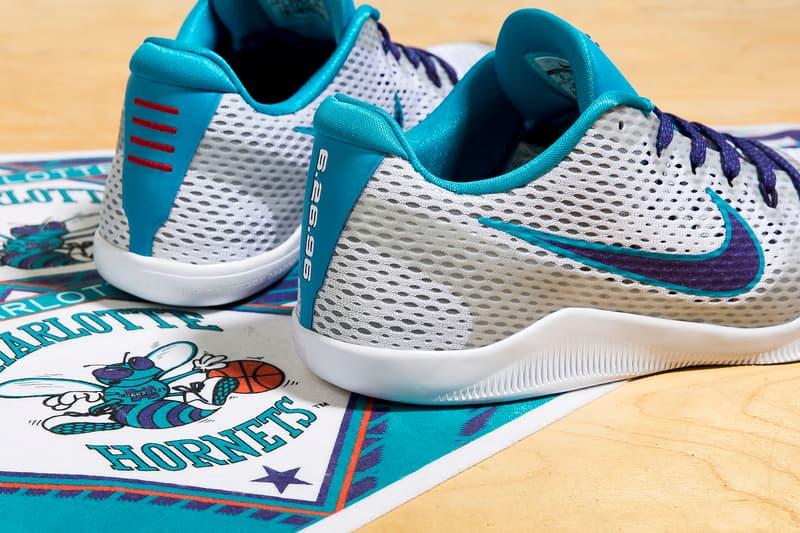 146e6bcf588 Nike Kobe 11 Draft Day Hornets Colorway