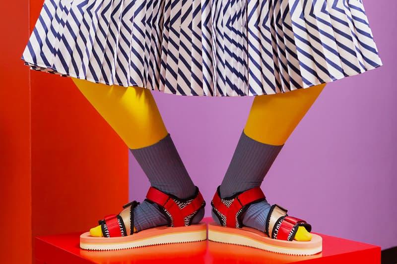43c59489d78f Slam Jam x SUICOKE 2016 Spring Collection. Sandals galore.