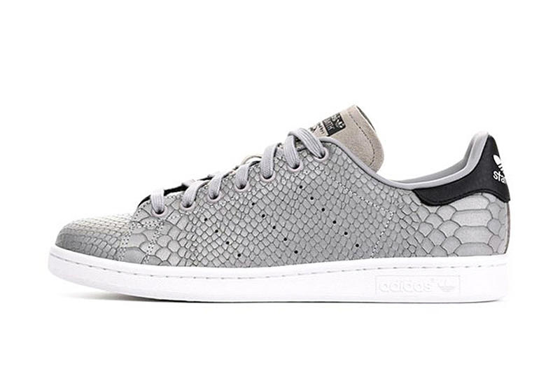size 40 2bd2e 58c6b adidas Originals Releases the Stan Smith in Python Silver