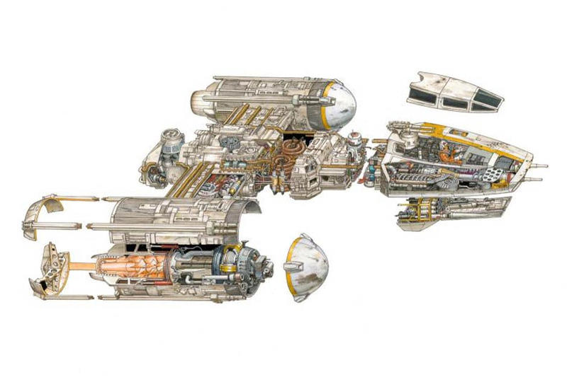 The Astoundingly Intricate Engineering of Famous 'Star Wars' Vehicles and Scenes
