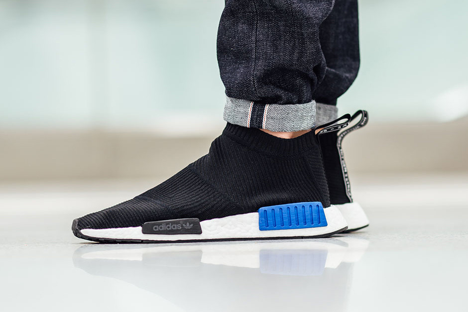adidas NMD City Sock Black Blue | HYPEBEAST
